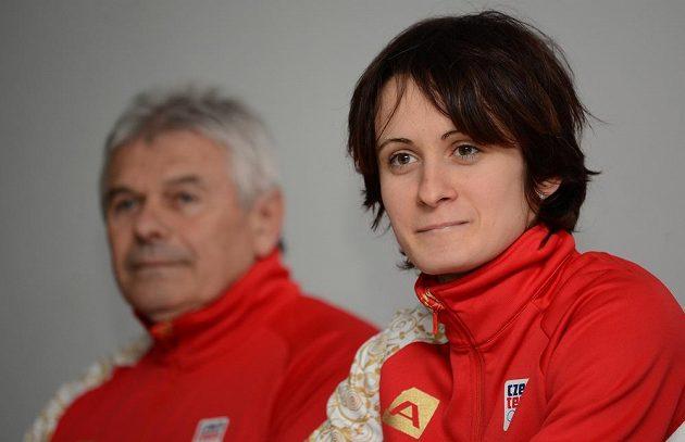 Martina Sáblíková v lednu 2014