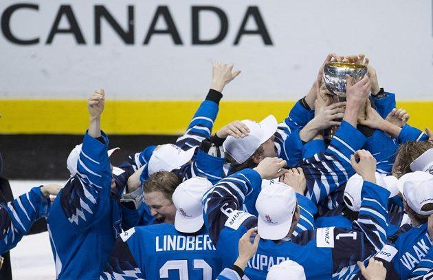 Finská radost ze zisku poháru.