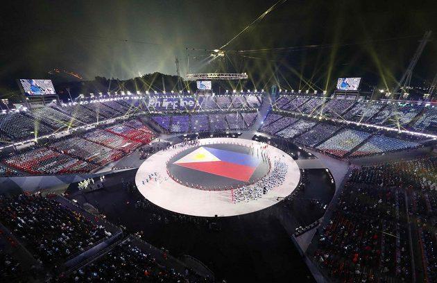 Slavnostní zahájení olympijských her se blíží.