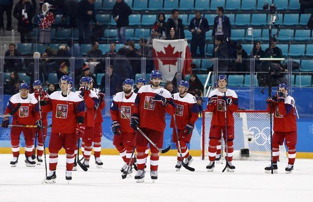 Hokejisté byli po prohře s Kanadou a konečném čtvrtém umístění pochopitelně zklamaní.