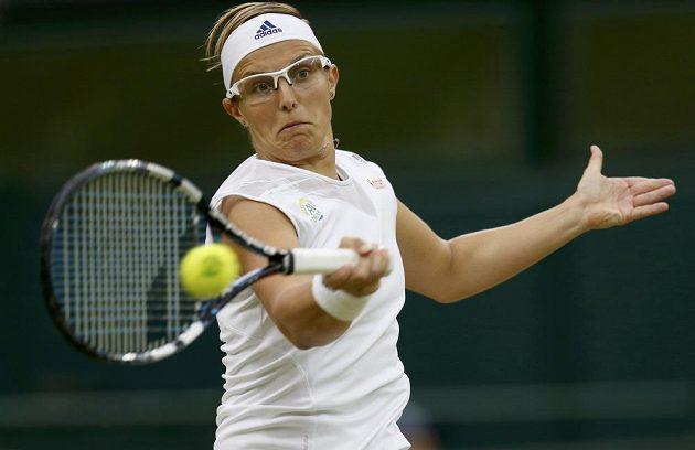 Belgická tenistka Kirsten Flipkensová.