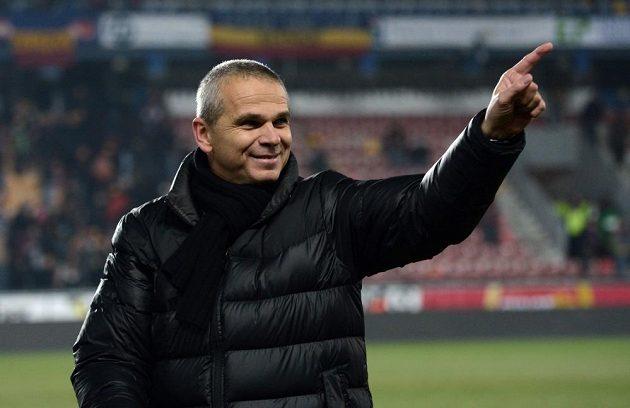 Spokojený trenér Sparty Vítězslav Lavička