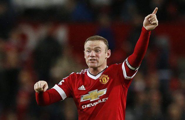Jednou trefou se na výhře Manchesteru United nad Bournemouthem podílel i Wayne Rooney.