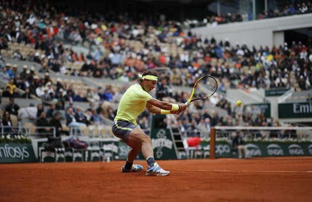 Rafael Nadal ovládl první set