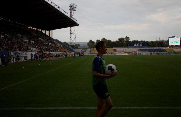 Zápas Teplice - Plzeň přerušil na chvíli výpadek elektrického proudu.
