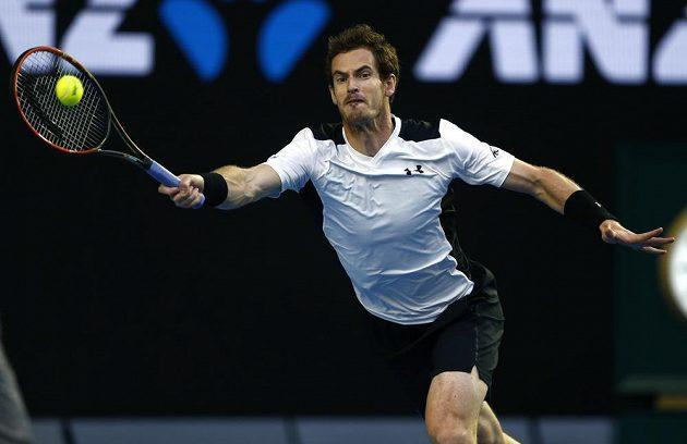 Brit Andy Murray v semifinále Australian Open.