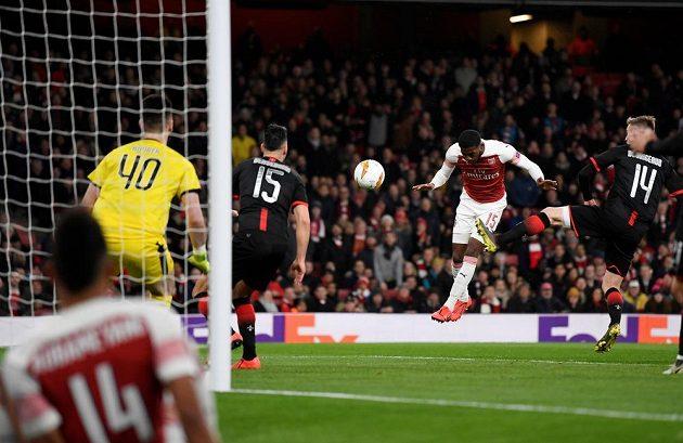První poločas patřil jednoznačně Arsenalu