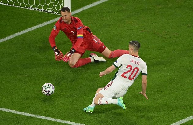 Manuel Neuer likviduje šanci Maďarska