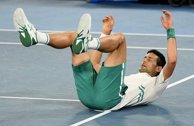 Novak Djokovič vybojoval v Austrálii třetí triumf v řadě, celkově devátý