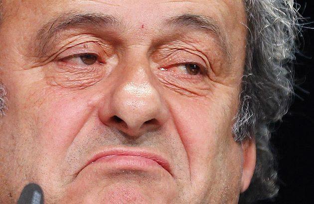 Prezident UEFA Michel Platini na snímku z května 2015.
