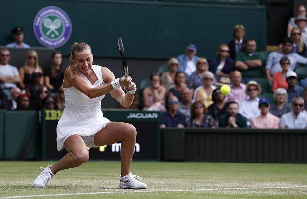 Petra Kvitová si čtvrtfinále Wimbledonu nezahraje