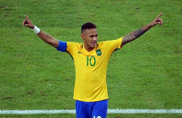 Rozhodl! Neymar nezaváhal při rozstřelu a Brazílie mohla jásat nad olympijským zlatem fotbalistů.