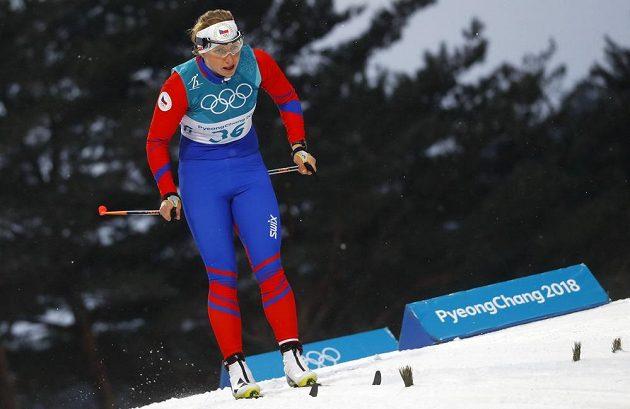 Karolína Grohová během kvalifikace sprintu.
