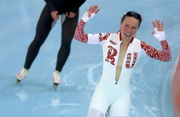 Pro bronz si dojela odvážná rychlobruslařka Olga Grafová z Ruska.