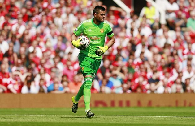 Nová brankářská jednička Manchesteru United Sergio Romero.