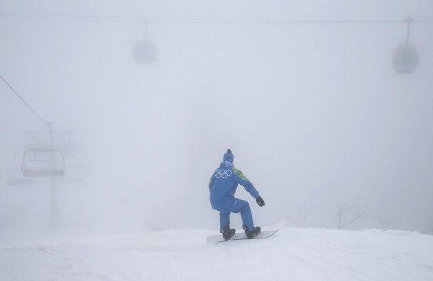 Nerozjela se ani kvalifikace snowboardkrosu můžu.