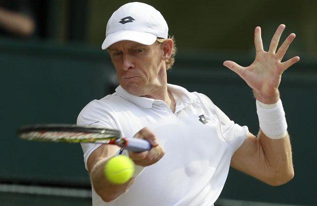 Jihoafričan Kevin Anderson v semifinále Wimbledonu.