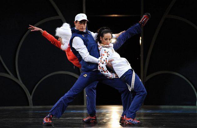 Český olympijský výbor představil v Obecním domě v Praze oficiální oblečení pro ZOH v Soči.