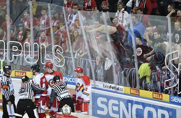 Fanoušci Olomouce o sobě dávali pořádně vědět