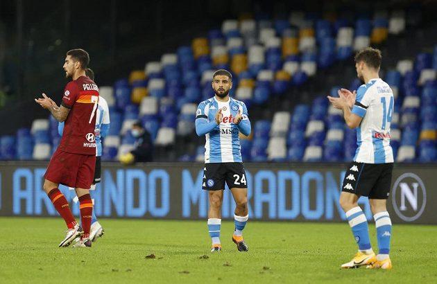 Fotbalisté se poklonili památce Diega Maradony