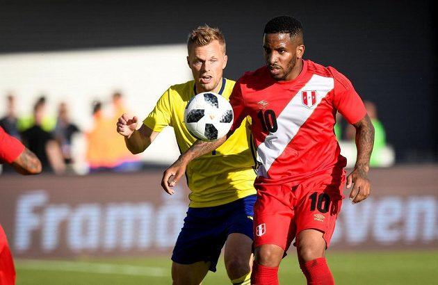 Fotbalisté Švédské uhráli před MS v přípravě s Peru jen bezbrankovou remízu.