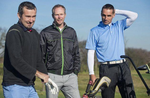 Bývalého desetibojaře Romana Šebrleho (vpravo) bude trénovat David Carter.