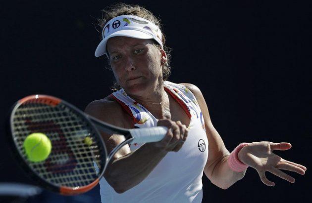 Barbora Strýcová neprošla v Melbourne 1. kolo.