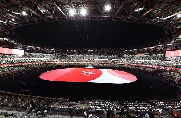 Na zahájení olympiády v Tokiu je vše připraveno.