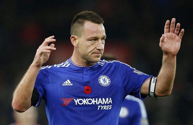 Stoper Chelsea John Terry po prohře se Stoke City.