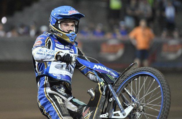 Vítěz Grand Prix České republiky Jason Doyle z Austrálie.