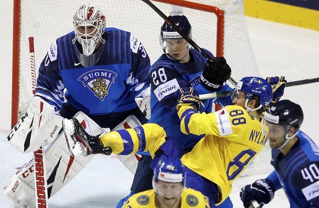 Švédsko ještě v první třetině otočilo zápas