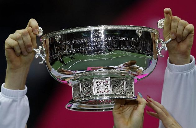 Slavný Fed Cup patří znovu týmu českých tenistek.
