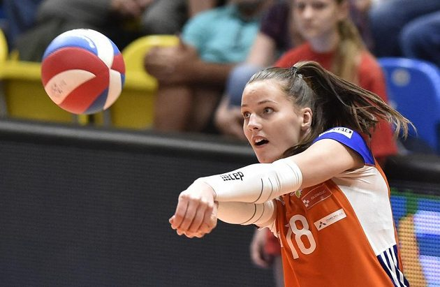 Gabriela Orvošová z Olomouce.
