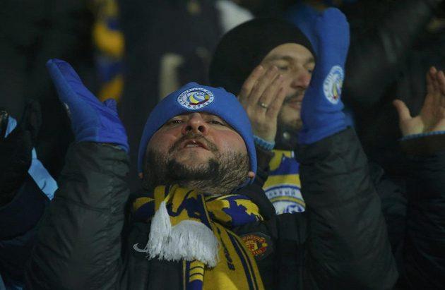 Spokojení fanoušci Rostova na Donu.