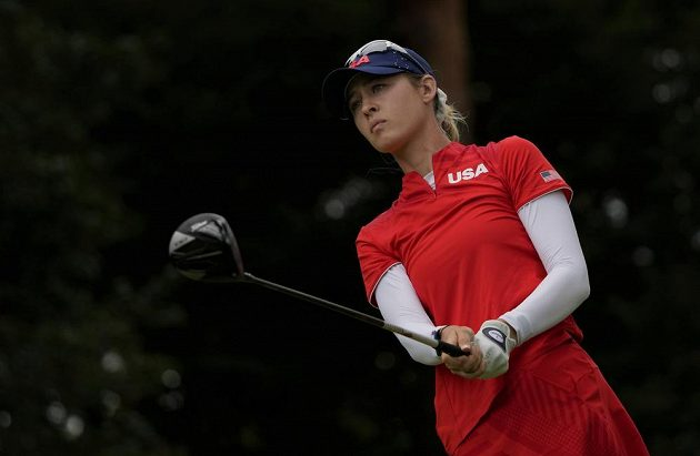Nelly Kordová triumfovala mezi golfistkami.