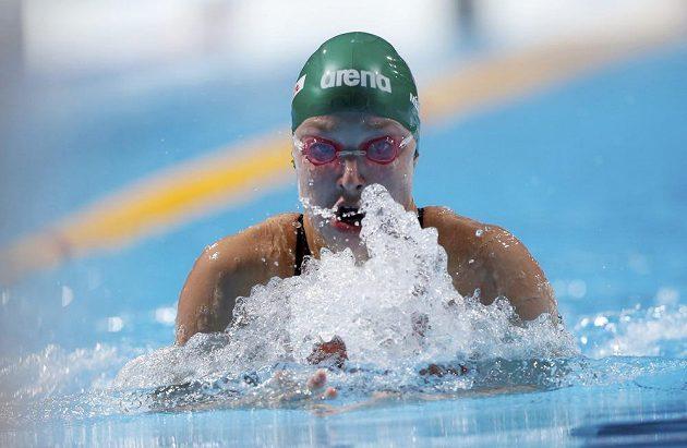 Litevská plavkyně Ruta Meilutyteová (na snímku) vylepšila na mistrovství světa v Barceloně světový rekord na 100 metrů prsa.