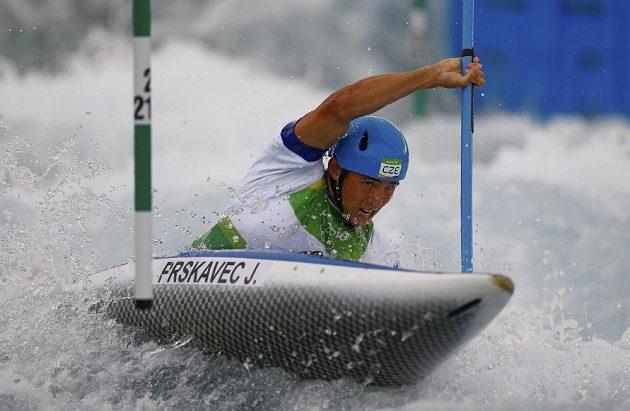 Jiří Prskavec během kvalifikace.