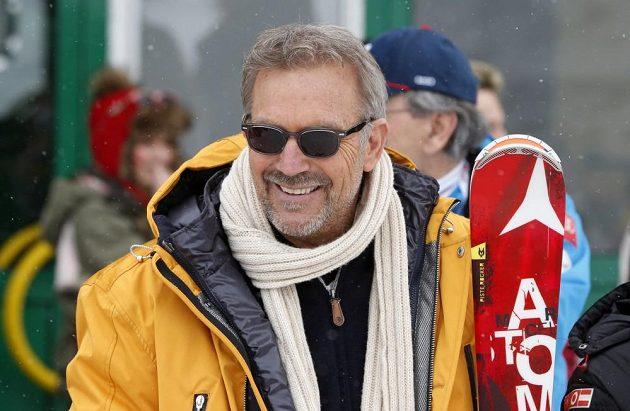 Jako čestný host byl do Schladmingu pozván i americký herec Kevin Kostner.