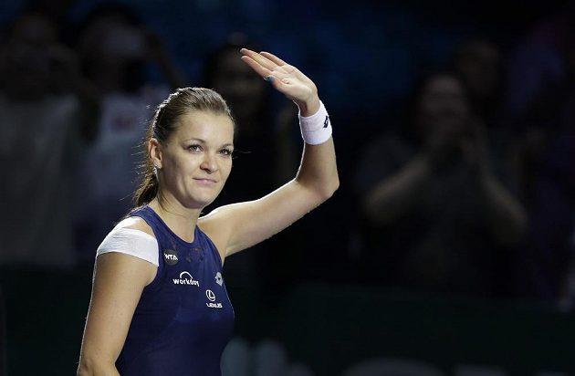 Agnieszka Radwaňská na Turnaji mistryň postoupila do semifinále.