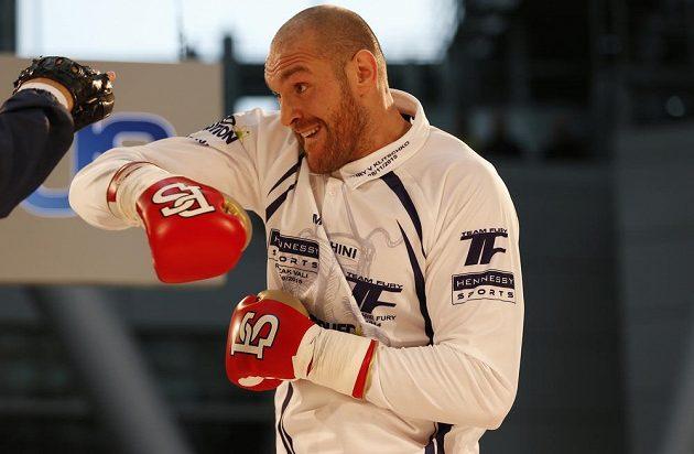 Takhle se Tyson Fury připravoval na Vladimíra Klička.