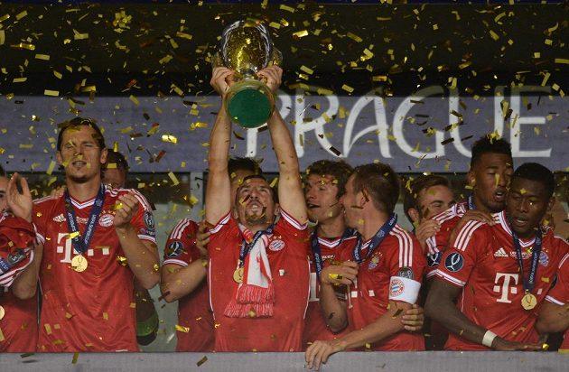 Bayern Mnichov - vítěz Superpoháru.