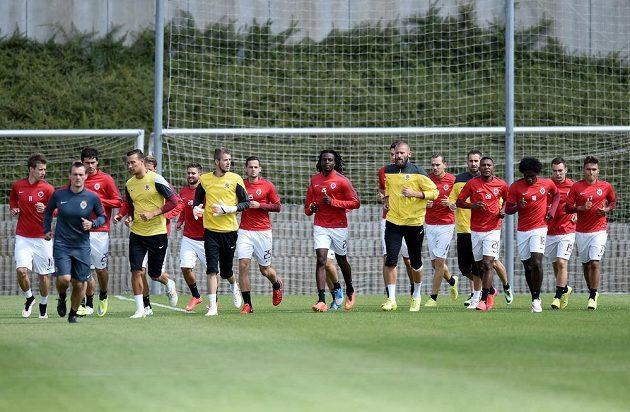 Fotbalisté Sparty Praha během zahájili přípravu na novou sezónu.