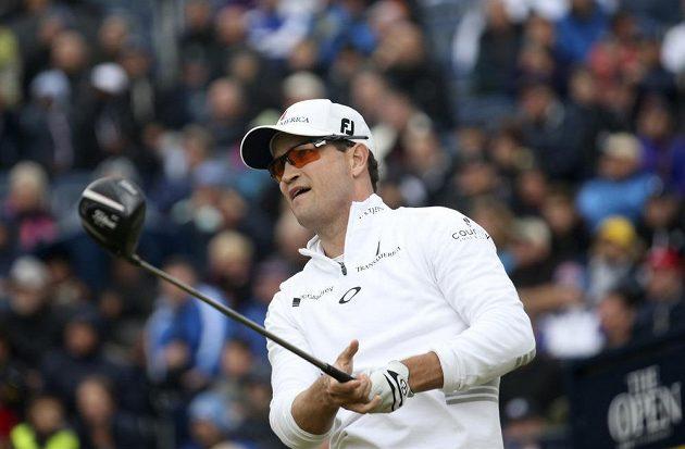 Američan Zach Johnson vyhrál golfový major British Open.