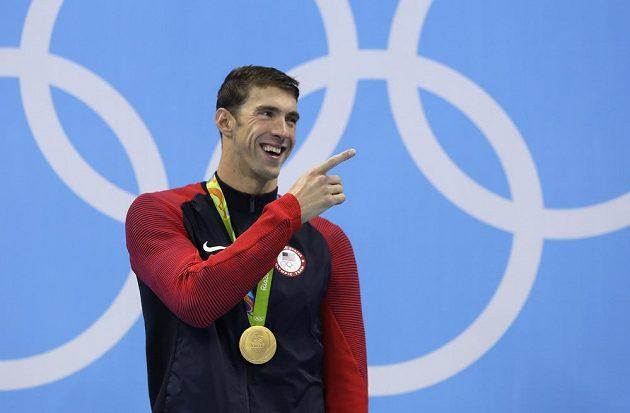 Plavec Michael Phelps přidal do své sbírky další zlato.