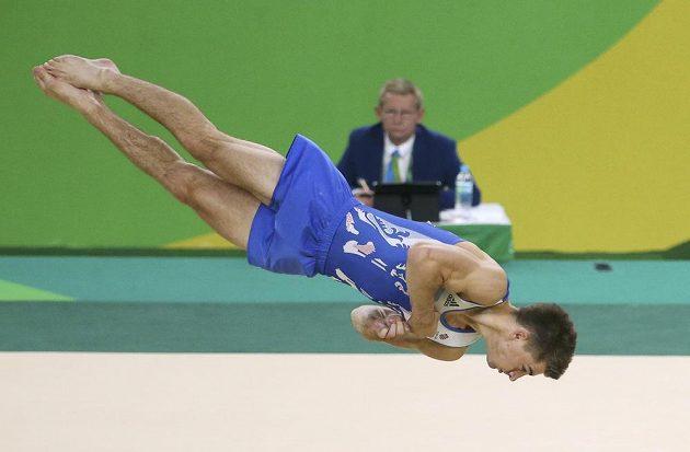 Max Whitlock získal v prostných první britské gymnastické zlato z OH.