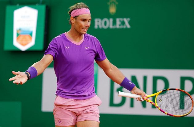Rafael Nadal v Monte Carlu na Rubljova nestačil