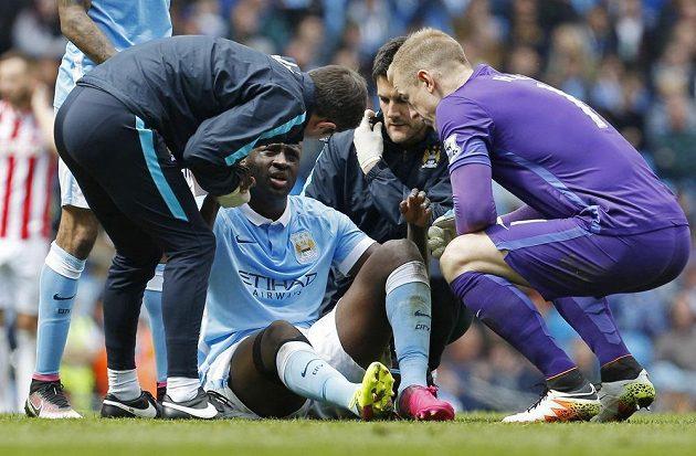 S kapitánem Manchesteru City je zle...
