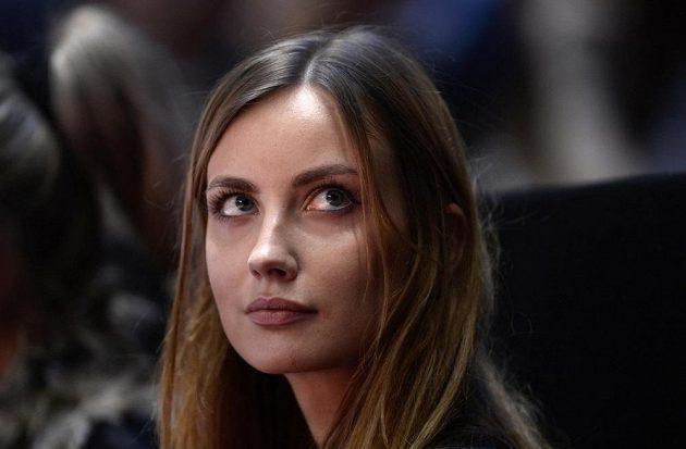 Krásná přítelkyně Tomáše Berdycha Ester Sátorová.