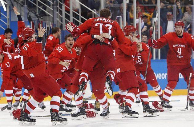 Sborná slaví olympijské zlato. Ve finále vyhrála nad Německem.
