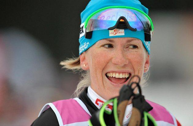 Kateřina Smutná reprezentující Rakousko vyhrála Jizerskou padesátku.